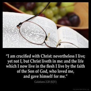 crucified w Christ